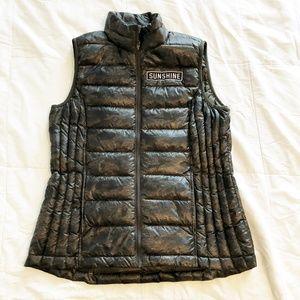 32 Degrees Down Packable Vest Camo Sunshine